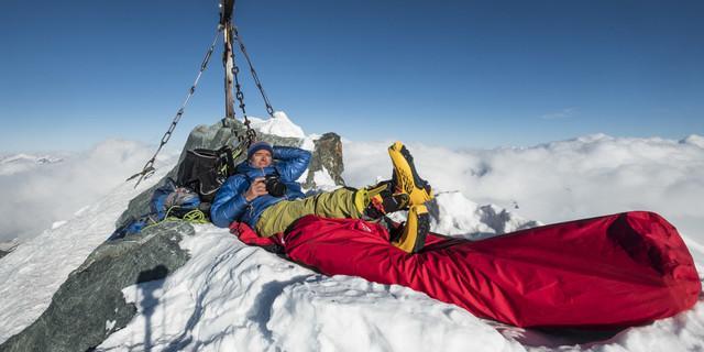 Winterbiwak auf dem Großglockner. Foto: Heinz Zak
