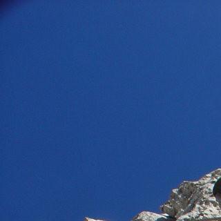 Unterwegs wie beim Klettern, Innsbrucker Klettersteig, Karwendel, Tirol, Oesterreich