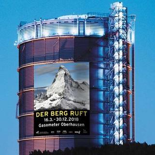 "Ausstellung ""Der Berg ruft"" im Gasometer Oberhausen"