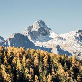 Herbststimmung im Nationalpark Berchtesgaden. Foto: Franz Güntner