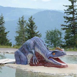Triassic Park auf der Steinplatte