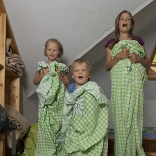 Kinder haben auf den Hütten viel Spass! Photocredit: Thilo Brunner