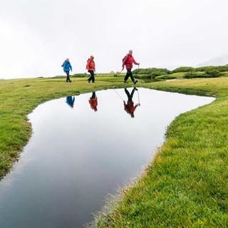 Verlandete Gebirgsseen, die sogenannten Pozzine entstanden während der Vergletscherung Korsikas und bilden heute mit hochalpinen Flachmoorwiesen ein unverwechselbares Landschaftsbild.