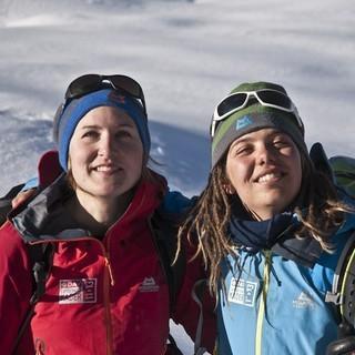 50 % des Damen Expeditonskladers 2013 - Yvonne Koch, Caro North und Charlotte Gild auf der Suche nach der idealen Linie  &nbsp&#x3B;