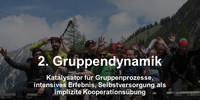 Selbstversorgung auf AV-Hütten - Gruppendynamik