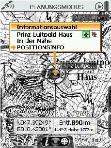 Screenshot 3 - Detaillierte alpine Karten mit Wegmarkierungen zur einfachen Orientierung