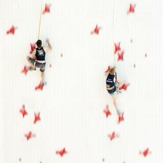 Speed-Klettern bei der Deutschen Meisterschaft Olympic-Combined. Foto: DAV/Jens Klatt