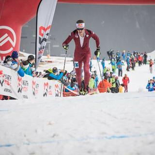 Anton Palzer auf dem Weg zu Silber im Vertical - Foto: Maurizio Torri