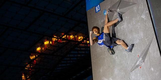 Boulder Worldcup Munich 2017, Foto: DAV/Marco Kost