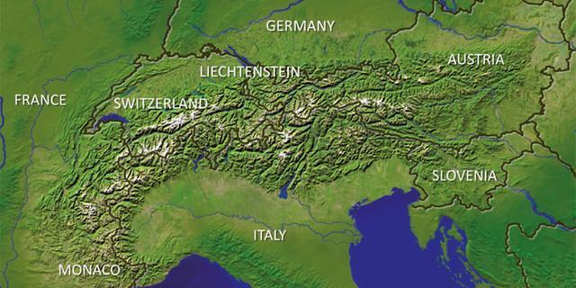Alpenkonvention und ihre Mitgliedsstaaten