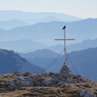 Wenn ich zwei Flügel hätt': Aussicht vom Großen Ebenstein nach Süden. Foto: Axel Klemmer