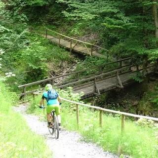 Etappe 1: Abfahrt von Buch in die Schlucht der Bregenzer Ach