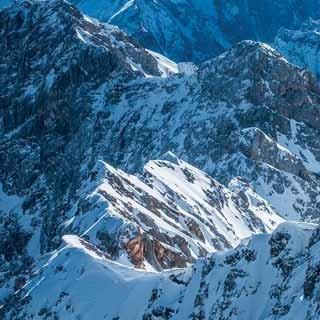 Jubiläumsgrat (Bayerische Alpen) - Winterüberschreitung des Jubiläumsgrats, Wettersteingebirge | Foto: Heinz Zak