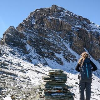 Vor dem Gipfelaufschwung des Garde de Bordon, Foto: DAV/Bernd Jung
