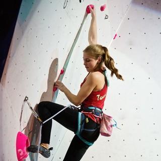 Hannah Meul hat gute Chancen auf eine Medaille. Foto: DAV/Vertical Axis