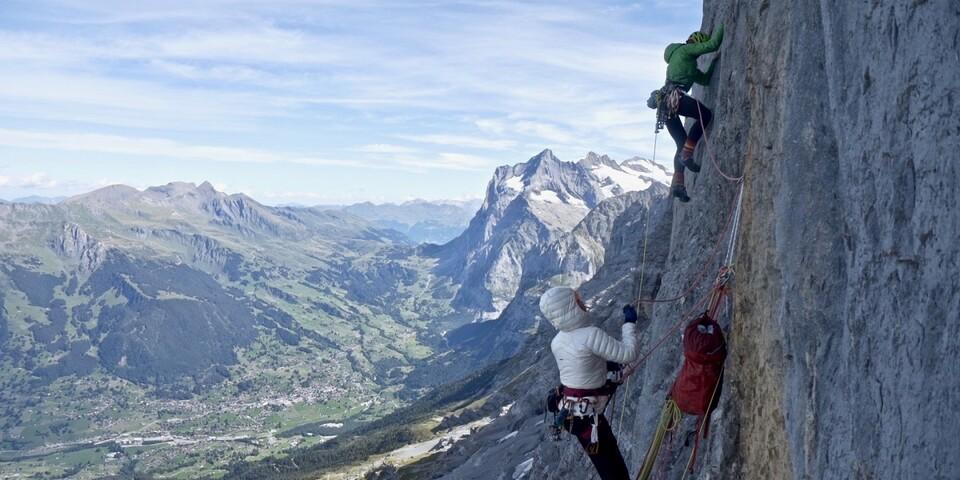 Die Eiger-Nordwand bietet einige Herausforderungen. Foto: Jochen Schmoll