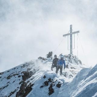 Auf dem Gipfelgrat der Wildspitze, Foto: Heinz Zak