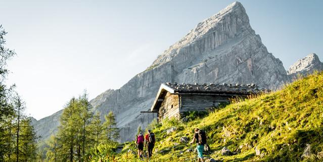 Mitterkaser Diensthütte, Foto: Hans Herbig