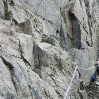 Madatschjoch - Das Madatschjoch zwischen Kaunergrat- und Verpeilhütte ist der höchste Punkt des Weges.