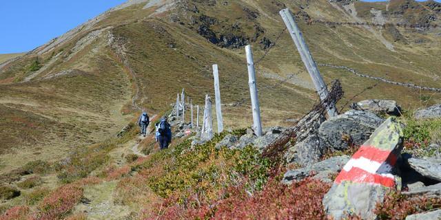 Fast ein Dutzend Kogel machen den Pinzgauer Gipfelgang zur Konditionstest-Alternative. Foto: Andi Dick