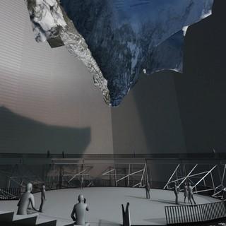 """Gasometer-Ausstellung """"Der Berg ruft"""""""