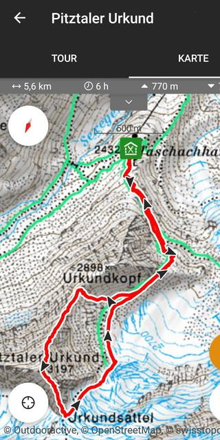 Neue App mit Topo-Karte