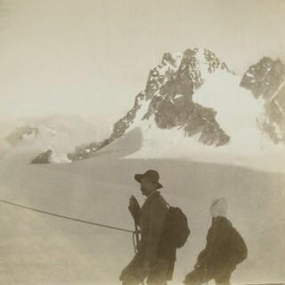 Dr. Moritz Bing auf Bergtour in den Westalpen