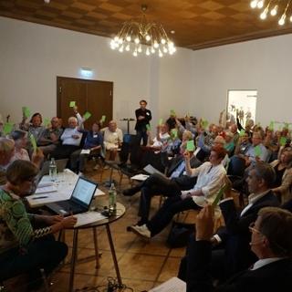 Die Gründungsmitglieder des Fördervereins im September 2018 in München; Foto: DAV/Alpines Museum
