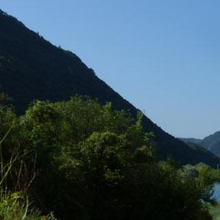 In der Poebene - Die Alpen sind überwunden, das Meer ruft – in der Poebene vor Treviso.