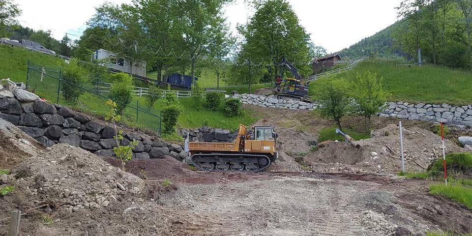 Unterbau für Multifunktionsfläche wird vorbereitet, 26.05.2020; Foto: Jubi/ Nico Löder