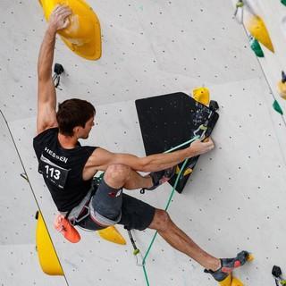 Kraft und Kreativität: Jan Hojer startet auch 2019 wieder bei der DM Lead. Foto: DAV/Marco Kost