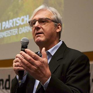 Grußwort Jochen Partsch, Oberbürgermeister der Stadt Darmstadt, Foto: JDAV/Ben Spengler
