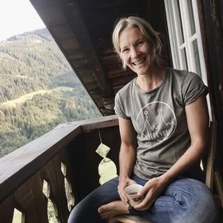 Petra Zink ist Yogalehrerin, Sportwissenschaftlerin und ehemalige Mountainbike-Leistungssportlerin. Foto: Verena Schneider