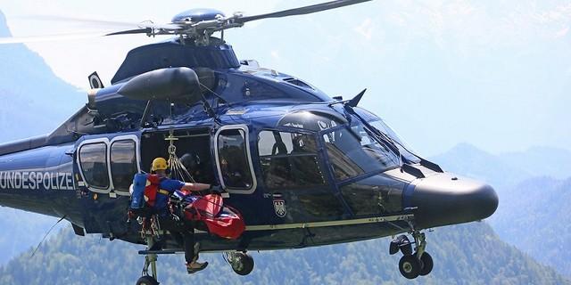 Luftrettung. Foto: Bergwacht Bayern