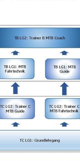 MTB-Ausbildungsstruktur 2021, Abbildung: DAV