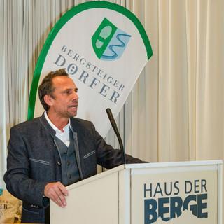 Umweltminister Thorsten Glauber, Foto: DAV/Georg Grainer