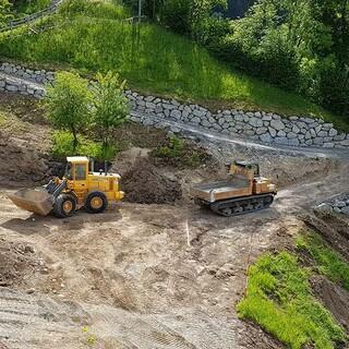Unterbau für die neue große Multifunktionsfläche wird erstellt, 28.05.2020; Foto: Jubi/Wolfgang Mayr