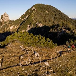 Bergsteigerdorf Kreuth Wandern Blankenstein