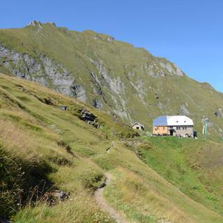 Gleiwitzer Hütte - Trotz oder dank neuem Anbau ist die Gleiwitzer Hütte ein gemütliches Refugium.