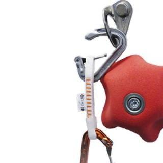 Bruchmechanismus Belastung des Schnappers durch Schlinge