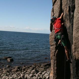 Ein echtes Kletter-Dorado: Bornholm. Foto: Karsten Kurz