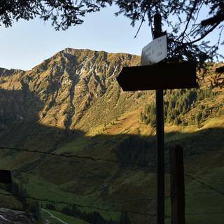 Beim Start an der Bochumer Hütte leuchtet der Gamshag schon im Morgenlicht. Foto: Andi Dick