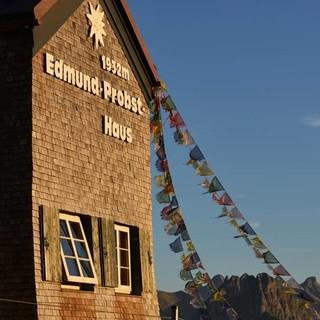 Das Edmund-Probst-Haus steht direkt neben der Bergstation der Nebelhornbahn und ist Etappenpunkt auf dem Himmelstürmer. Foto: Friedrich Stettmayer