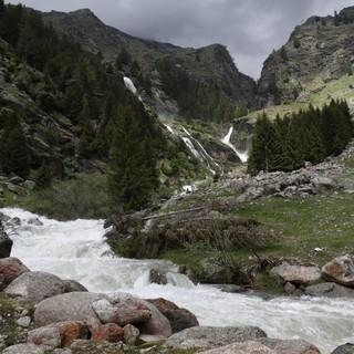 Im Bereich des Zielbachs im Naturpark Texelgruppe in Südtirol soll ein neuer Klettersteig gebaut werden. Foto: Texelbahn AG