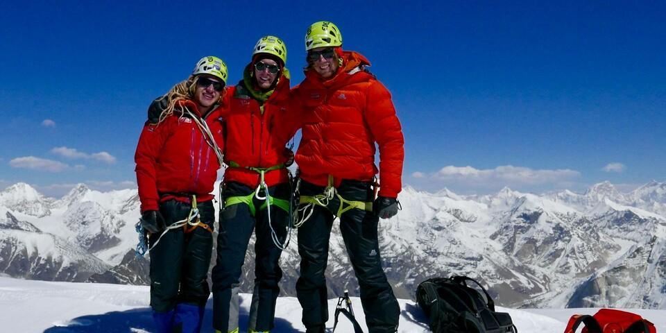 Der Expedkader der Männer 2018 auf der Abschlussexpedition in Shivling. Foto: DAV
