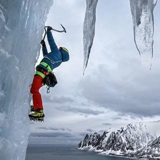 Eis und Meer: Senja bietet beeindruckendes Potential. Foto: DAV / Dörte Pietron