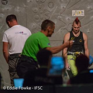 Letztlich auf Rang 26: Sebastian Halenke. Foto: Eddie Fowke - IFSC