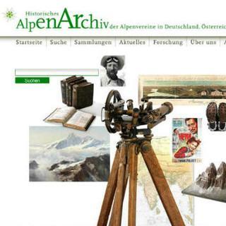 HistorischesAlpen-ArchivScreenshot