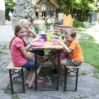 Geburtstagsfeier im Garten des Alpinen Museums, Foto: DAV