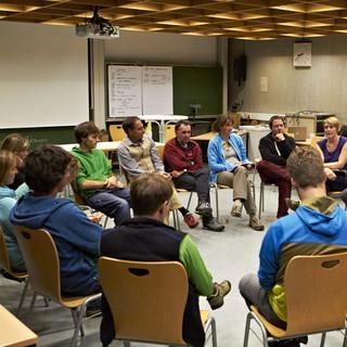 Bundeslehrteam Jugend - Das Bundeslehrteam Jugend nutzte den BJLT für sein Herbsttreffen. (c) Ben Spengler